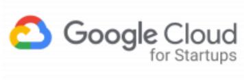 Google Cloud for Startups logo.