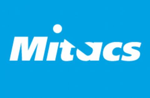 Mitacs logo.
