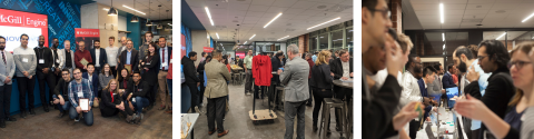 Collage of three images during the 2019 Celebration of Innovation and Entrepreneurship.