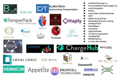The are over 40 projects and startups that have been supported.