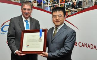 Xinyu Liu with Ian L. McWalter