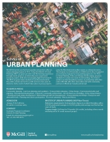 Urban Planning Program Flyer English