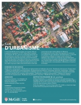 Urban Planning Program Flyer French