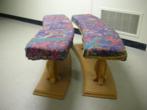 Moyse Hall props - Seating