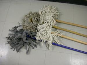 Moyse Hall props - Cleaning