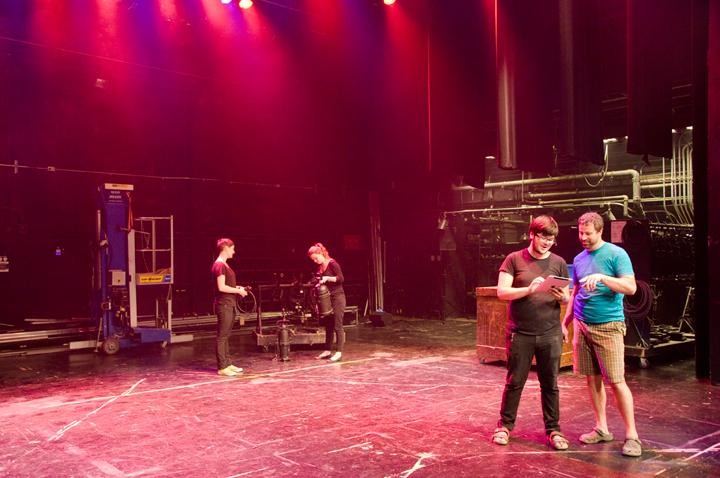 Moyse Hall Stage