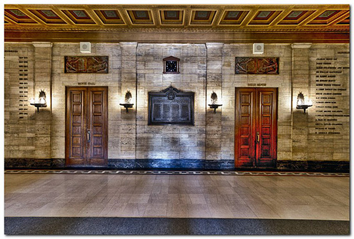 Moyse Hall lobby