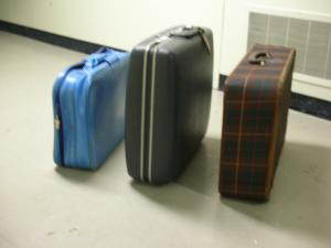 Moyse Hall props - Luggage