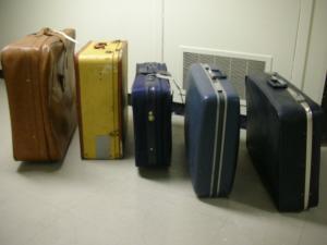 Moyse Hall props - Luggage