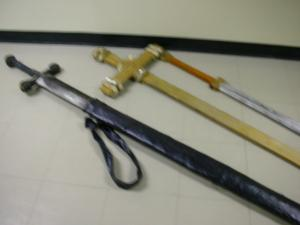 Moyse Hall props - Weapons