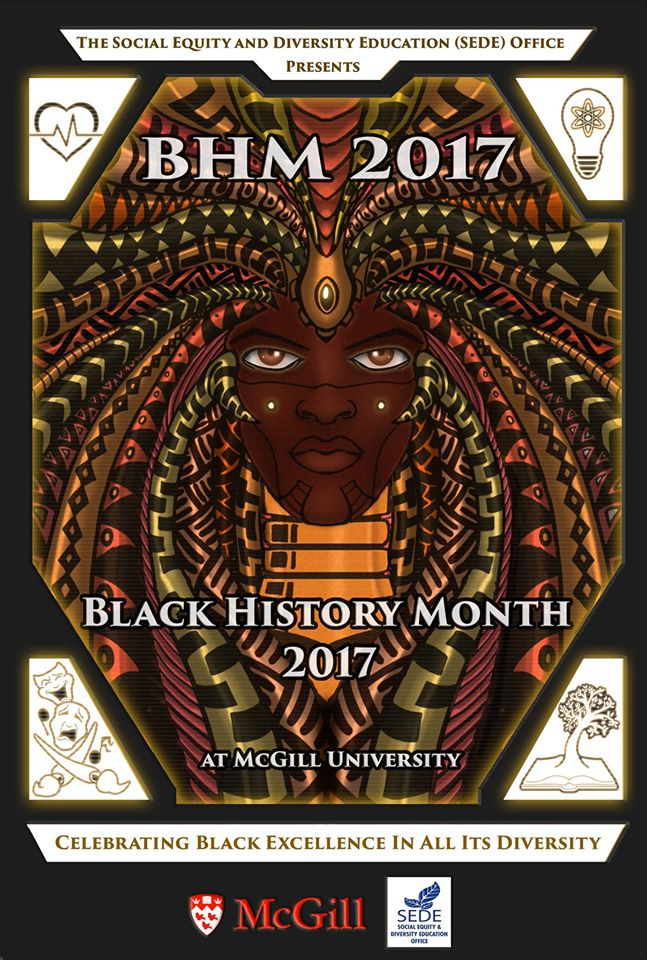 Poster for Black History Month 2017