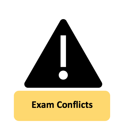 Exam Conflicts