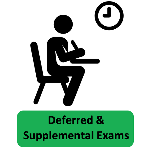 Deferred and Supplemental Exams