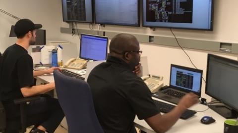 HVAC control room