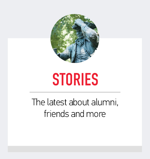 Stories - The latest about alumni, friends and more