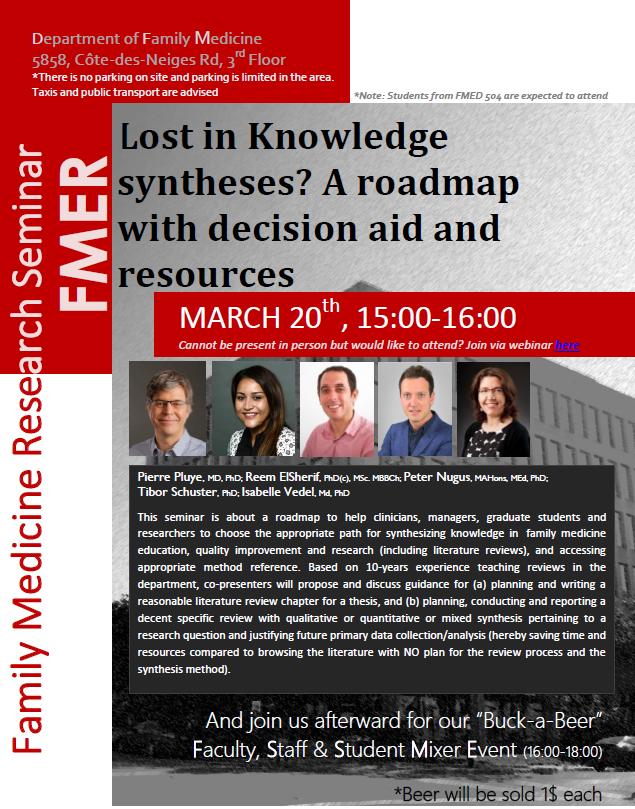 Research Seminar:
