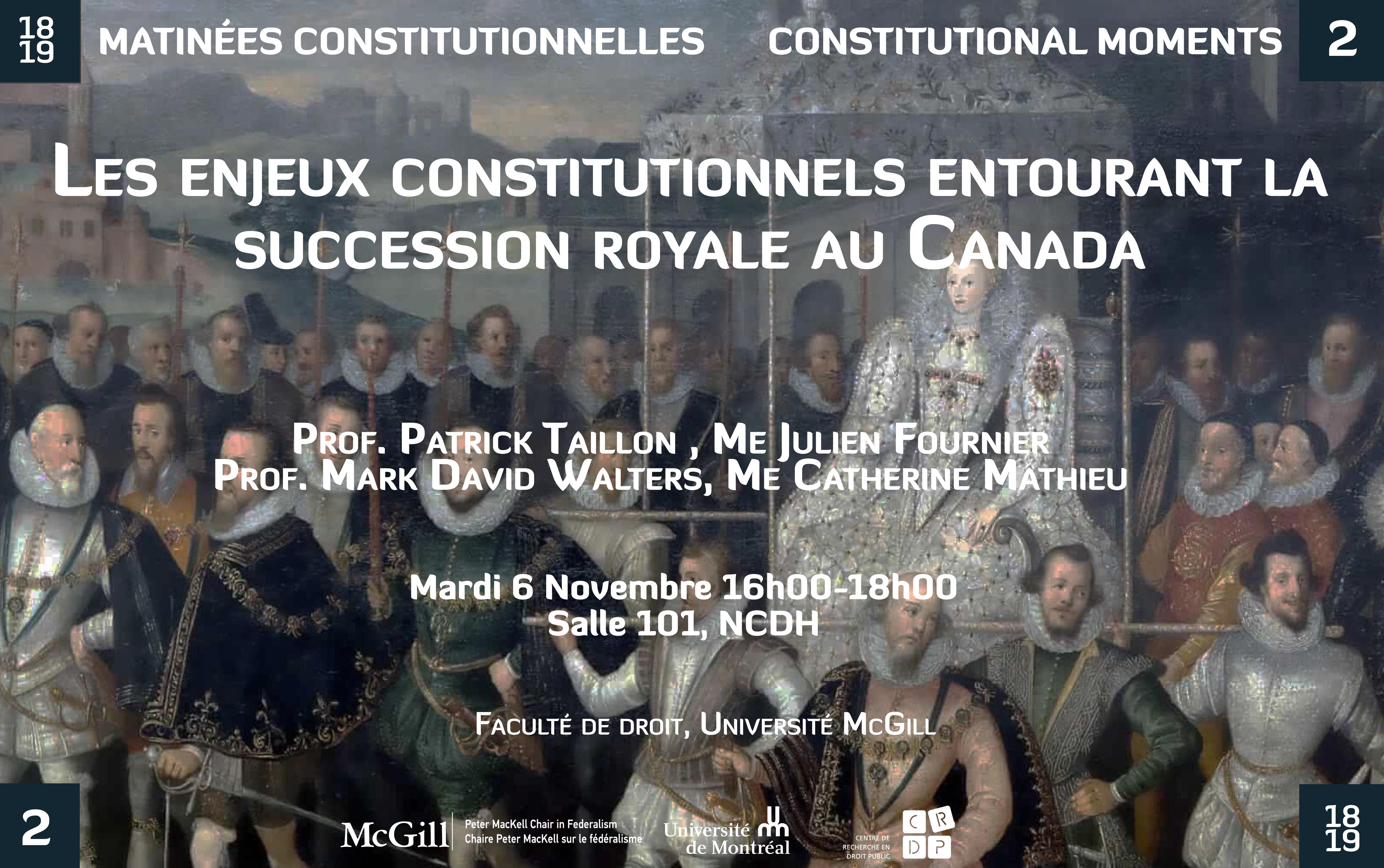 regards sur le federalisme canadien