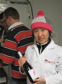 Final Rosé wine bottle year 2011