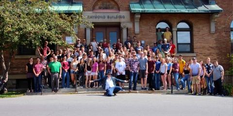 The FMT Program staff and students taken on September 2018