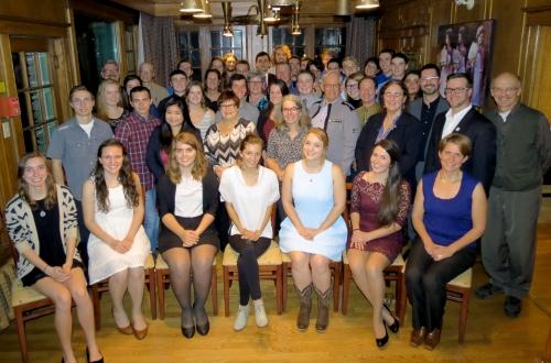 2016 FMT Awards night -donors, staff and recipients at Tadja Hall