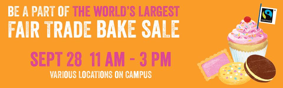Fair trade bake sale