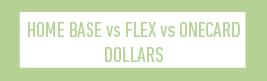 homebase vs flex vs onecard