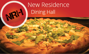 New residence Dining Hall