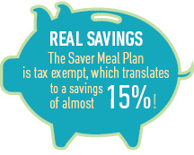 saver Tax exempt - Save15%