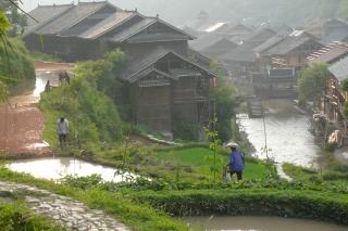upland Dong ethnic minority village, Guizhou province, China