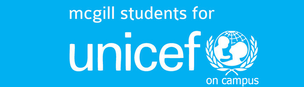 McGill Students for UNICEF logo