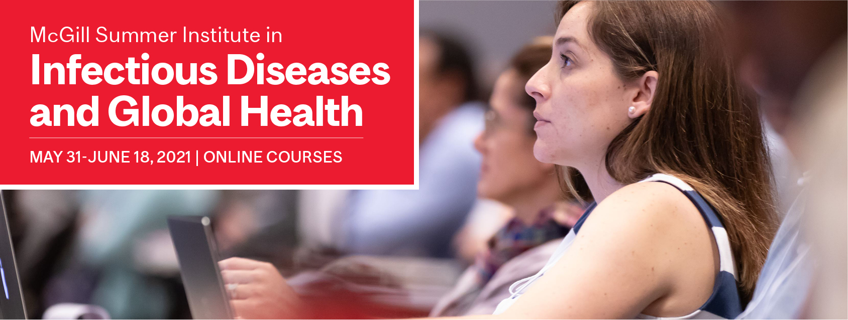 McGill Summer Institute in Infectious Diseases and Global Health 2021 Banner