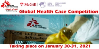 McGill Friends of MSF Global Health Case Competition Flyer