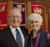 Photo of McGill alumni Barbara and Patrick Keenan