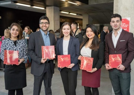 Winners of the 3 Minute Thesis challenge