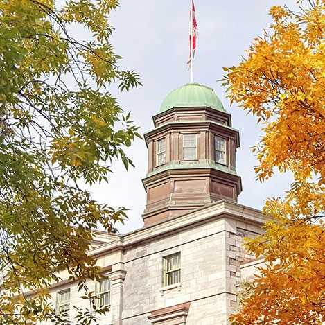 Photo of McGill downtown campus