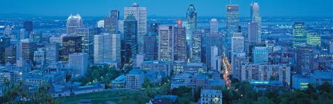 Photo of downtown Montreal