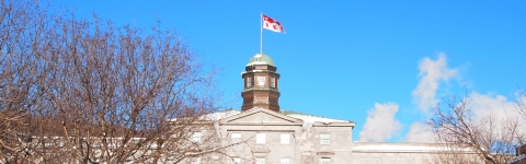 Photo of McGill downtown campus arts building