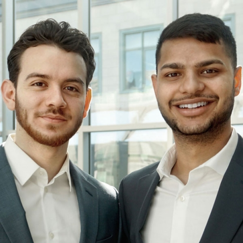 Photo of Sanchit Gupta et Milton Calderon