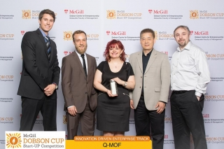 Q-MOF team at the 2015 Dobson Cup