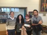 Les gagnant(e)s de la compétition 3MT FONCER en chimie verte