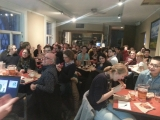 A roomful of trainees at the Green Chemistry Trivia Night