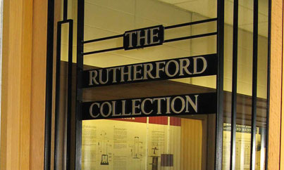 Ernest Rutherford Collection Historical Collections