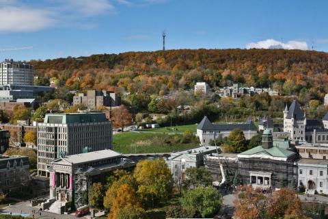 McGill campus: Leacock building, Redpath museum, Dawson hall & around
