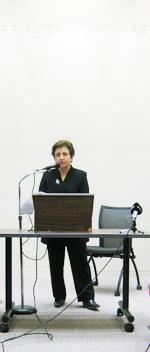 Shirin Ebadi, 7 mars 2008