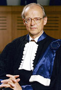 Dr. Luzius Wildhaber, Retiring President of the European Court of Human Rights