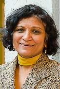 Professor Nandini Ramanujam. Photo by Lysanne Larose