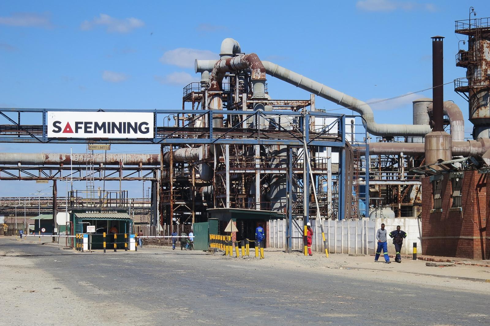 Mopani Copper Mine in Zambia