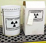 dry radioactive materials