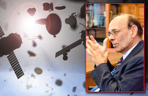 Professor Ram Jakhu explores questions of the peaceful governance of space, and of the growing problems associated with space debris.