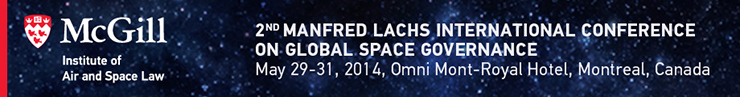 2nd Manfred Lachs International Conference on Space Goverance - 29-31 May 2014